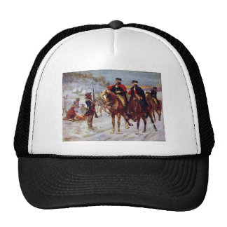 Washington and Lafayette at Valley Forge ~ Trucker Hat