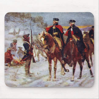 Washington and Lafayette at Valley Forge ~ Mouse Pad