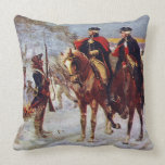 Washington and Lafayette at Valley Forge ~ Pillow