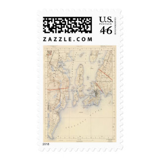 Washington and Newport County Postage Stamps