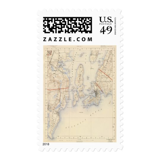 Washington and Newport County Postage
