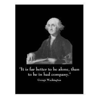 Washington and quote post cards
