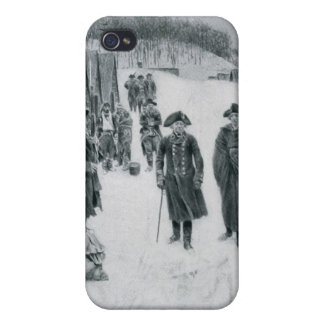 Washington and Steuben at Valley Forge iPhone 4 Covers