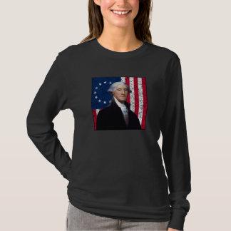 Washington and The American Flag T-Shirt