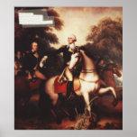 Washington antes de Yorktown de Rembrandt Peale Poster