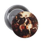 Washington antes de Yorktown de Rembrandt Peale Pin Redondo 5 Cm