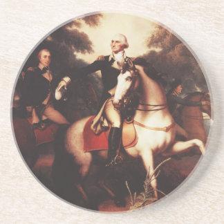 Washington antes de Yorktown de Rembrandt Peale Posavasos Manualidades