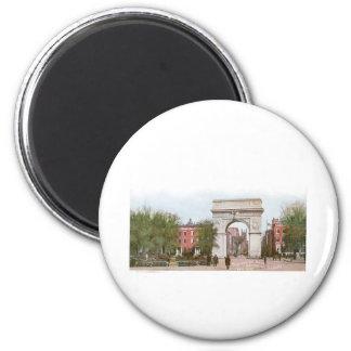 Washington Arch, Washington Square, New York 2 Inch Round Magnet