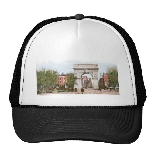 Washington Arch, Washington Square, New York Trucker Hat