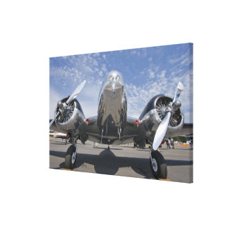 Washington, Arlington Fly-in, airshow. Stretched Canvas Print