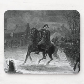 Washington At The Battle Of Trenton Mouse Pad