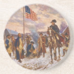 Washington at Valley Forge by Edward P. Moran Coaster