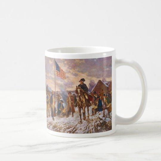 Washington at Valley Forge by Edward P. Moran Coffee Mug