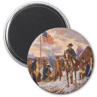Washington at Valley Forge by Edward P. Moran Magnet