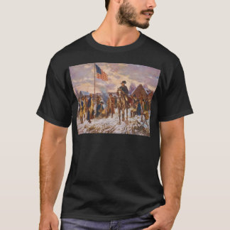Washington at Valley Forge by Edward P. Moran T-Shirt