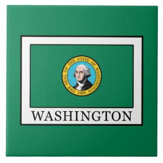 Washington Azulejo Cuadrado Grande