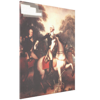 Washington before Yorktown by Rembrandt Peale Canvas Print