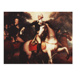 Washington Before Yorktown by Rembrandt Peale Postcard