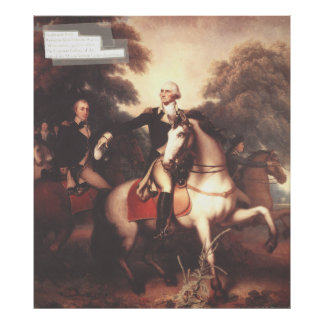 Washington before Yorktown by Rembrandt Peale Print