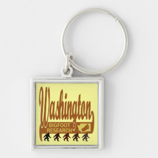 Washington Bigfoot Research Keychain