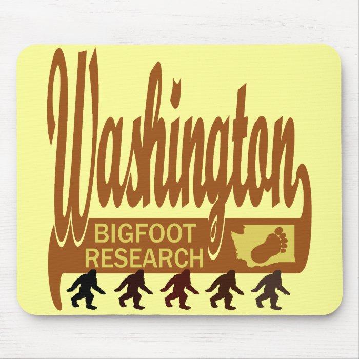Washington Bigfoot Research Mouse Pad