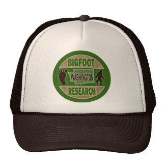 Washington Bigfoot Research Trucker Hat