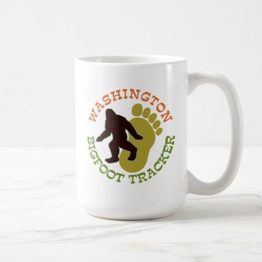 Washington Bigfoot Tracker Classic White Coffee Mug