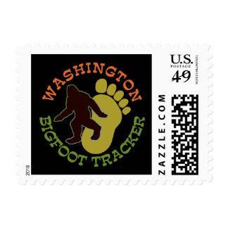 Washington Bigfoot Tracker Postage