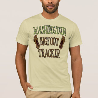 Washington Bigfoot Tracker T-Shirt