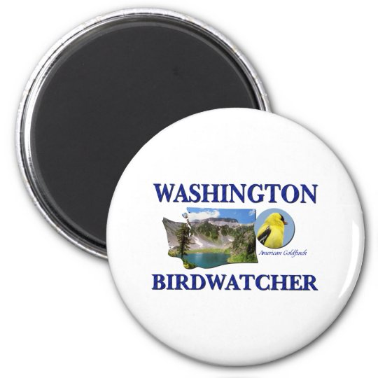 Washington Birdwatcher Magnet