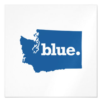 WASHINGTON BLUE STATE MAGNETIC CARD