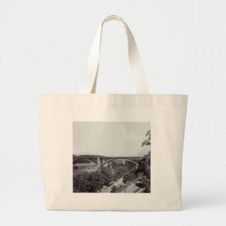 Washington Bridge New York City Canvas Bags