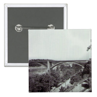 Washington Bridge New York City Pinback Buttons