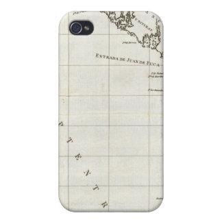 Washington, British Columbia, Vancouver map iPhone 4/4S Cases