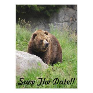 "Washington Brown Bear - Party Invitation 5.5"" X 7.5"" Invitation Card"