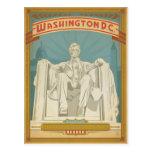 Washington, C.C. - Abe Lincoln Tarjeta Postal
