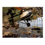 WASHINGTON, C.C. LOS E.E.U.U. Aviones exhibidos ad Tarjeta Postal