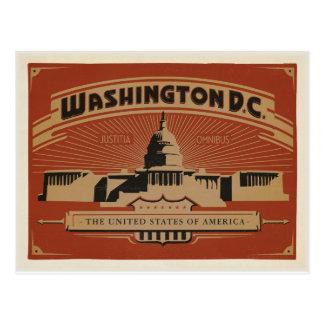 Washington, C.C. Tarjeta Postal
