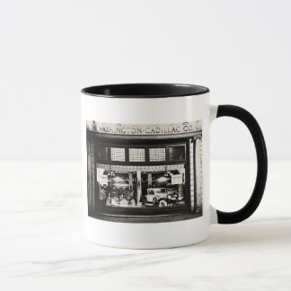 Washington Cadillac Co. 1927 Mug