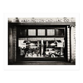 Washington Cadillac Co. 1927 Postcards