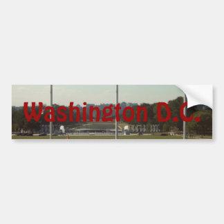 Washington Etiqueta De Parachoque