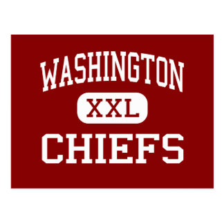 Washington - Chiefs - Junior - Joliet Illinois Postcard