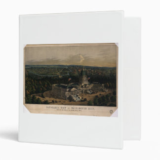 Washington City Dome of the U.S. Capitol (1856) Binder