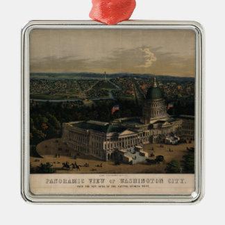 Washington City Dome of the U.S. Capitol (1856) Metal Ornament