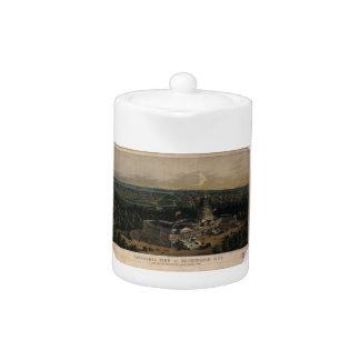 Washington City Dome of the U.S. Capitol (1856) Teapot