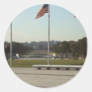 Washington Classic Round Sticker