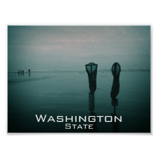 Washington Coast Poster