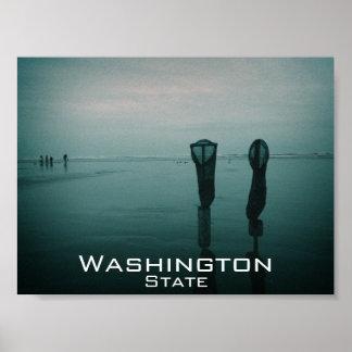 Washington Coast Print