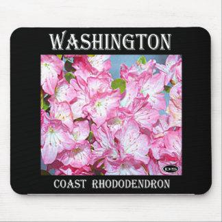 Washington Coast Rhododendron Mouse Pad