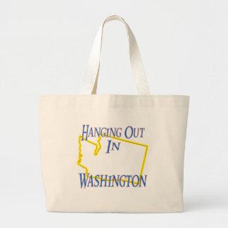 Washington - colgando hacia fuera bolsa